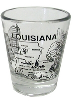 Louisiana Shot Glass