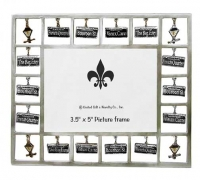New Orleans Street Signs Dangle Picture Frame