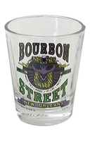 Bourbon Street U Shot Glass