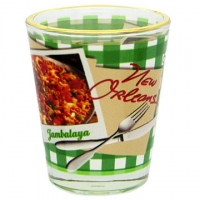 Jambalaya Recipe Shot Glass