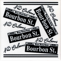 Bourbon St. Scattered Ceramic Tile