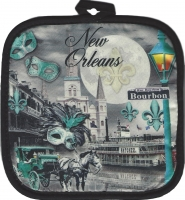 New Orleans Balcony Pot Holder