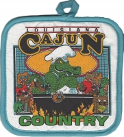 Cajun Country Pot Holder