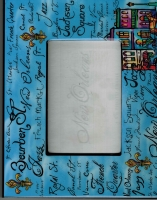 French Quarter Script Picture Frame