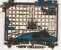 New Orleans French Quarter Magnet