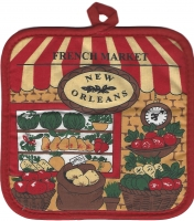 French Market Veggie Pot Holder
