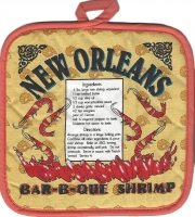 Bar-b-que Shrimp Recipe Pot Holder