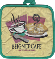 Beignet Cafe Pot Holder