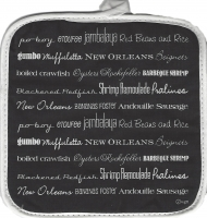New Orleans Foods Pot Holder