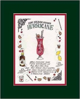 Hurricane Recipe Art