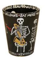 Skeleton Shot Glass