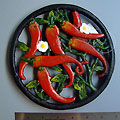 Chili Pepper Cast Iron Trivet