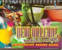 New Orleans Cocktails Counter Top Recipe Book