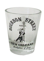 New Orleans Drunk On A Lamp Post Shot Glass